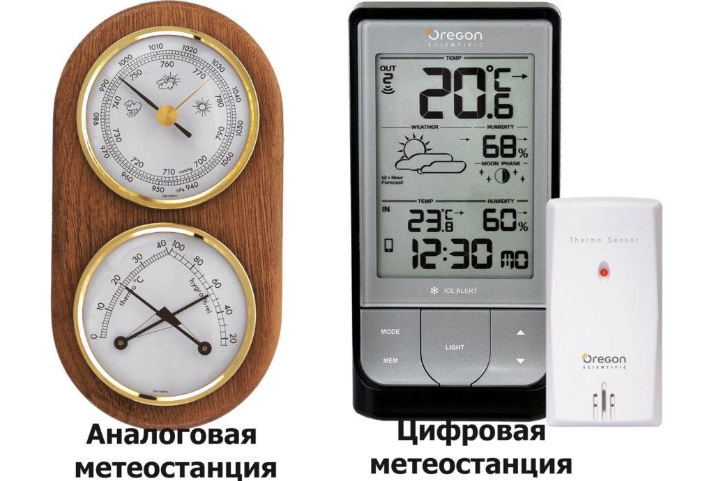 как выбрать метеостанцию: аналоговая или цифровая