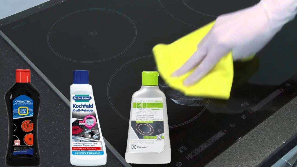 средство для чистки индукционной плиты