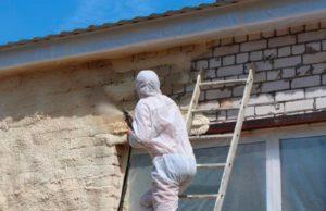 теплоизоляция фасадов зданий: пенополиуретан