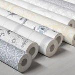 Отделочные материалы, для отделки стен внутри дома: бумажные обои