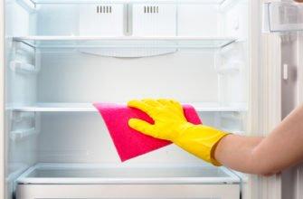 Как и чем правильно отмыть холодильник после разморозки