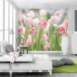 Материалы для отделки стен внутри дома: фотообои