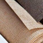 Отделочные материалы, для отделки стен внутри дома: джутовые обои