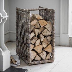 хранение дров в доме