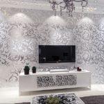 Отделочные материалы, для отделки стен внутри дома: металические обои