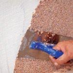 Отделочные материалы, для отделки стен внутри дома: минеральная штукатурка