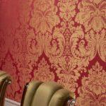Материалы для отделки стен внутри дома: текстильные обои