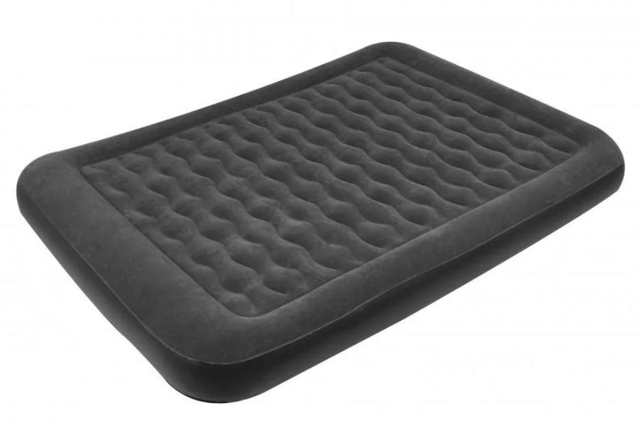 как выбрать надувной матрас для сна:Relax flocked air bed double