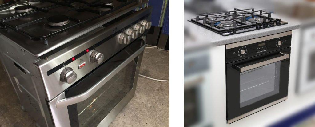 независимая газовая духовка