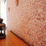 Отделочные материалы, для отделки стен внутри дома: жидкие обои