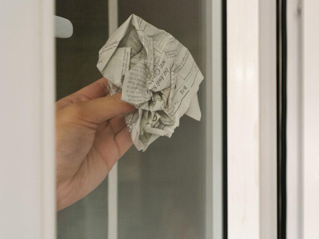 Газета для стекла