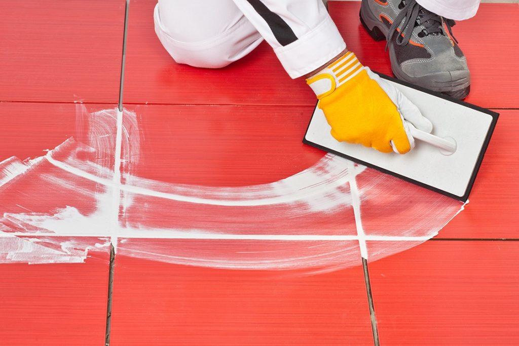 как сделать швы между плиткой белыми