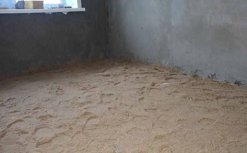Песчаная стяжка