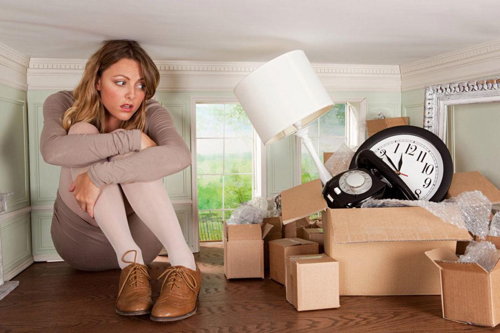 Избавиться от хлама в квартире