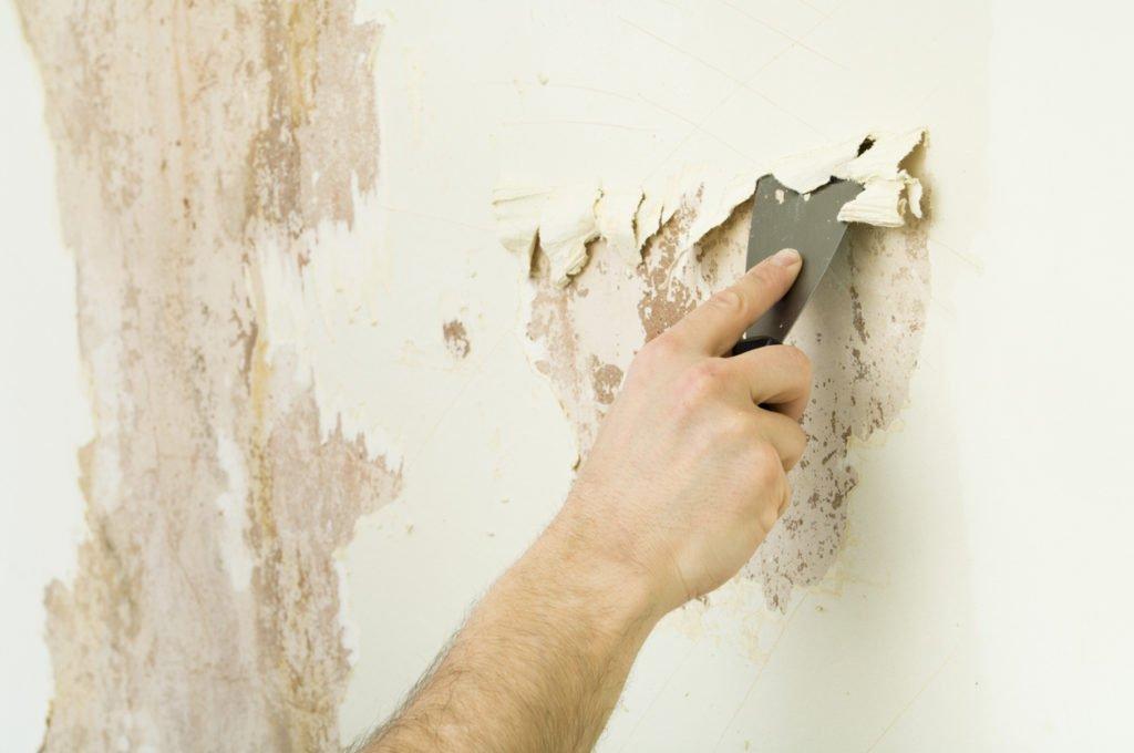 Очистка штукатурки со стен