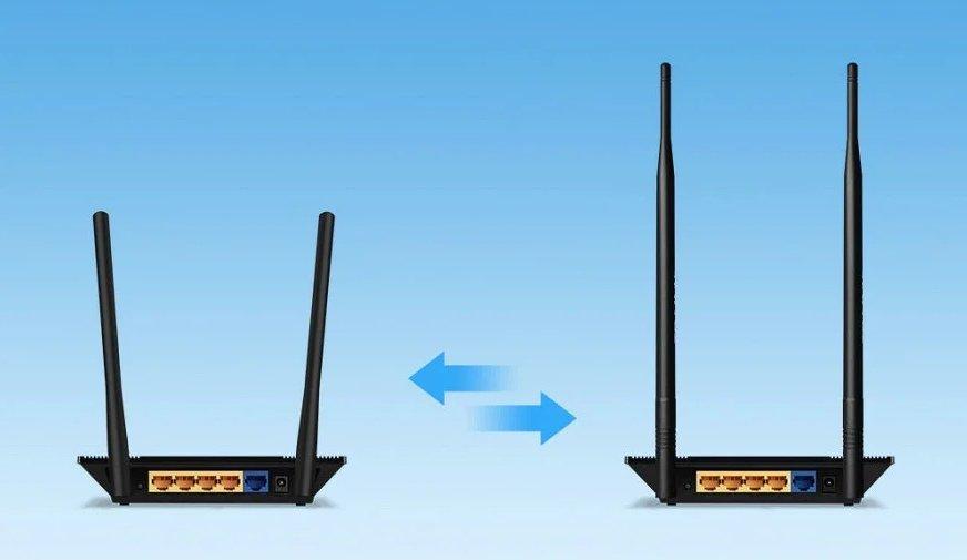 Сигнал от антенны роутера