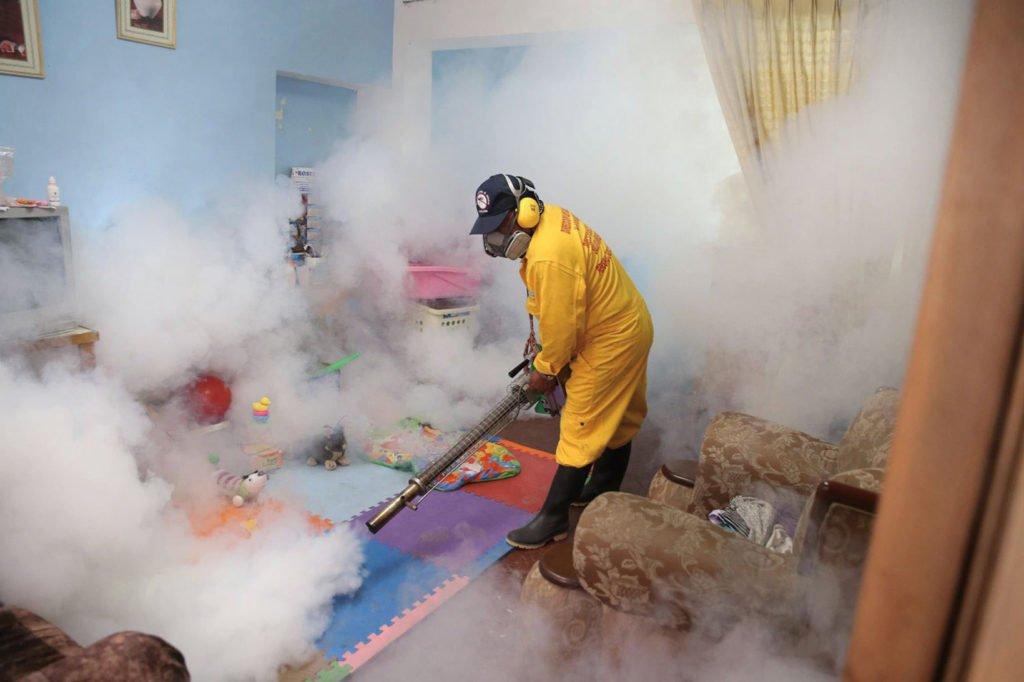 Дезинфекция горячим туманом