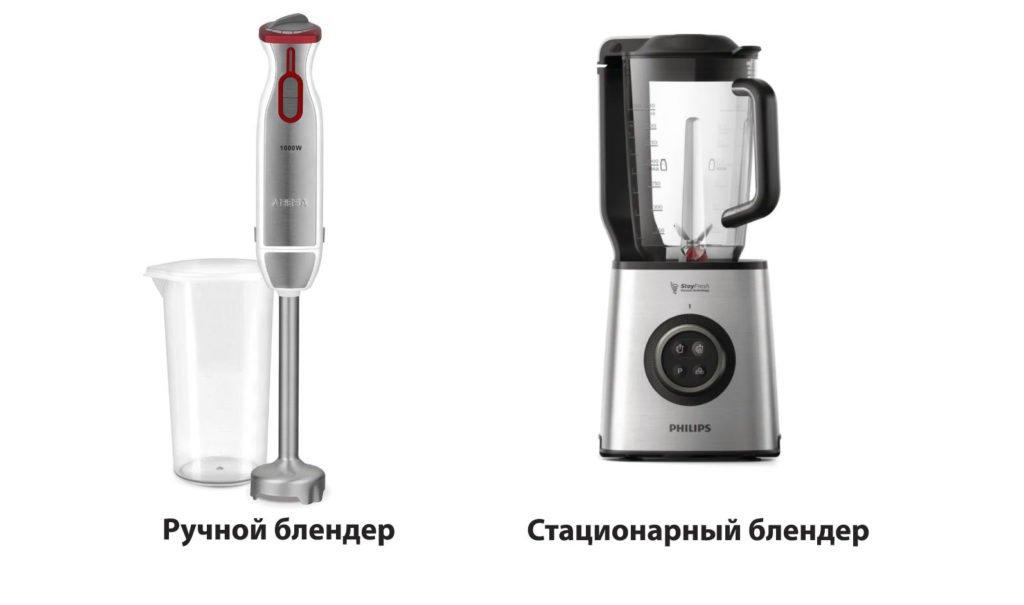 Миксер и блендер - сходство и различие бытовых приборов.